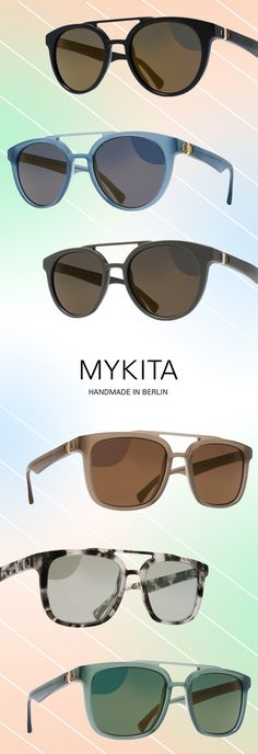 MYKITA Perfects Double Bridge Flair: http://eyecessorizeblog.com/?p=5827