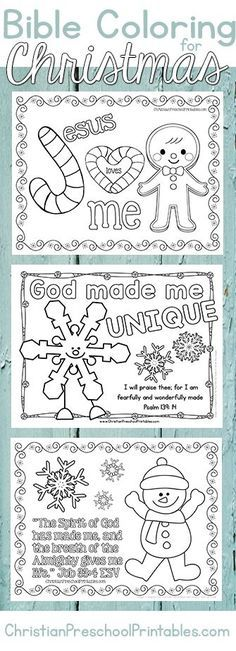 Christmas Bible Coloring Pages. A great set of free christian coloring pages and… Christmas Bible Coloring Pages. A great set Christmas Bible, Christmas Crafts For Kids, Christmas Activities, Christmas Colors, Christmas Fun, Holiday Crafts, Summer Crafts, Christian Christmas Crafts, Kindergarten Christmas