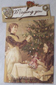 Victorian Artist Trading Card. (ATC, ACEO, Art Card)