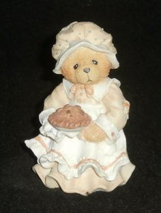 Enesco Cherished Teddies Patience Thanksgiving Figurine #617105