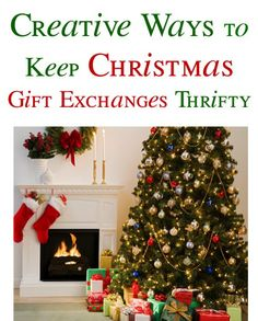 Creative Ways To Keep Christmas Gift Exchanges Thrifty