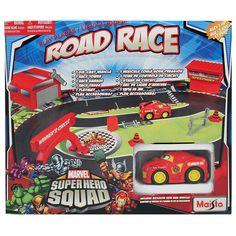 Maisto Marvel Superhero Squad Road Race Set