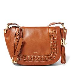 Leather Amari Saddle Bag - Lauren All Accessories  - RalphLauren.com