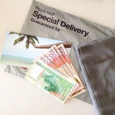 Day 11: post/mail. Today's prompt is perfect as I just had 2 deliveries. My holiday money for next week and some grey needlecord for a project to do before I go! Yey