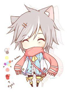 I realised I don t have a lot of boy chili drawings! Chibi boy Cute chibi Anime neko