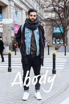 Street Style Warsaw Warsaw, Bomber Jacket, Vogue, Vest, Street Style, Jackets, Room, Fashion, Down Jackets