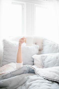 But first, coffee… via @LCLaurenConrad on Instagram