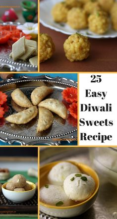 25 easy Diwali Sweets Recipes - Diwali sweets, festival sweets, recipe compilation, quick and easy sweets recipes, Indian sweets Diwali Snacks, Diwali Food, Diwali Recipes, Diwali Dishes, Diwali Diy, Indian Dessert Recipes, Indian Sweets, Indian Recipes, Fun Baking Recipes