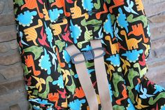 Tutorial to re-cover infant or toddler car seat using the existing seat cover