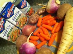 Winter Veggie Soup (gastroparesis-friendly -- from www.LivingWithGastroparesis.com)