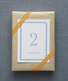 2nd Anniversary: Cotton | Celebrate another year of wedded bliss with a unique and personal gift idea.