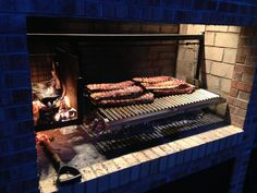 Rack of Ribs on a Parrilla Grilling Insert