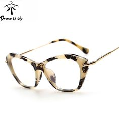 313db5f6a29 DRESSUUP New Fashion Frame Glasses Women Cat Eye Glasses Woman Classic  Optical Vintage Glasses Frame Eyeglasses