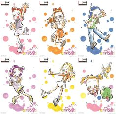 Toei Animation today announced that a time-limited shop dedicated to its Ojamajo Doremi anime franchise will open in the Limited Base section on the third floor of the Ikebukuro P'PARCO departme Doremi Anime, Anime Chibi, Manga Anime, Ojamajo Doremi, Irish Art, Pictures To Draw, Anime Comics, Manga Girl, Magical Girl