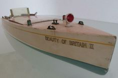 VIDEO Bassett Lowke for Stephan Bing 1933 electric boat  box seen working 3volts Rolls Royce Silver Cloud, Moving To The Uk, Electric Boat, Classic Toys, Pond, Boats, Antique, Ebay, Water Pond