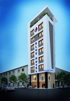THIÊT KẾ VÀ THI CÔNG NỘI THẤT KHÁCH SẠN BLUE HOTEL – TIME VIỆT