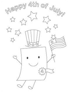 Delightful 4th of july coloring pages from Mr. Printable
