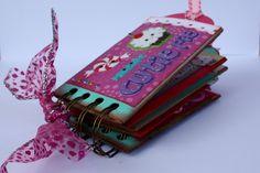 "Momenta Design Team Project - ""Cutie Pie"" Toilet Paper Roll Mini Album |Faith Abigail Designs"