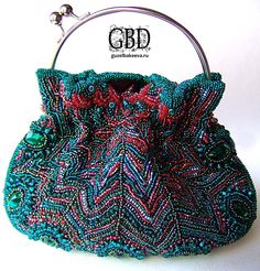 New Cheap Bags. The location where building and construction meets style, beaded crochet is the act of using beads to decorate crocheted products. Beaded Clutch, Beaded Purses, Beaded Bags, Vintage Purses, Vintage Bags, Vintage Handbags, Bead Embroidery Jewelry, Beaded Embroidery, Handmade Purses