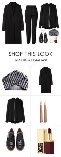 """251"" by szum ❤ liked on Polyvore featuring Electronic Sheep, Alexander Wang, Eddie Borgo, KG Kurt Geiger, Yves Saint Laurent and Emilio Pucci"