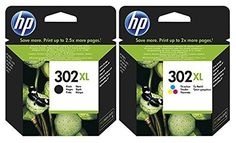 Hp 302xl High Yield Black And Colour Combo Pack Original Ink Cartridge