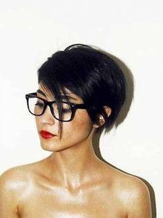 Coupe cheveux courts femme visage rond … | Pinteres…