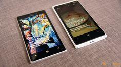 Nokia Lumia 925 and Lumia 920