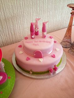 #princess #pink #castle #birthday #girl #tea party #tutu #1st birthday #party food #food table