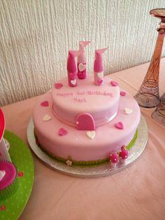 #princess #pink #castle #birthday #girl #tea party #tutu #1st birthday #party food #food table