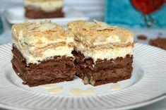 Desert cu mascarpone, cacao si biscuiti | MiremircMiremirc Romanian Desserts, Yogurt, Queso, Sweet Treats, Cheesecake, Food And Drink, Sweets, Cookies, Crafts