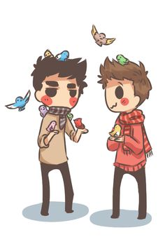 stiles: aww birds are so cute! :3 derek: t.t
