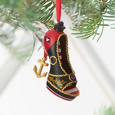 Disney Cruise Line Shoe Ornament, Deck shoe, Item No. 7509055890840P $24.95