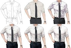 Digital Painting Tutorials, Digital Art Tutorial, Art Tutorials, Drawing Body Poses, Guy Drawing, Manga Clothes, Drawing Clothes, Draw Tips, Manga Drawing Tutorials