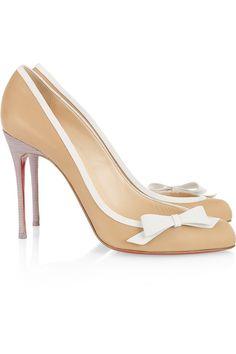 feminine leather heels - Google Search