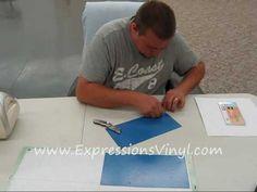 Cricut vinyl tutorials