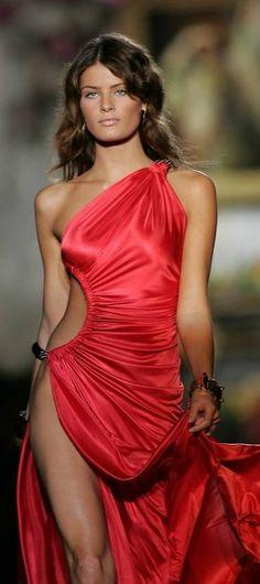 Glamour Gowns / karen cox.Isabeli Fontana