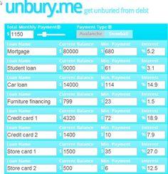debt repayment 1 snowball