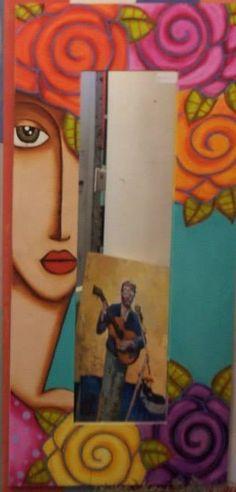 baraka Photo Booth, Diy And Crafts, Art Ideas, Whimsical, Abstract Art, Face, Marcos Para Fiestas, Little Birds, Mirrors