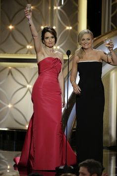 Amy Poehler And Tina Fey's Best Moments Of The 2014 Golden Globes This.