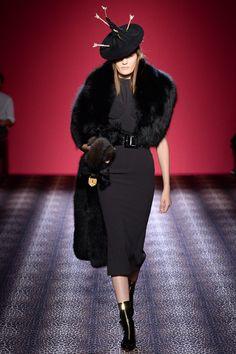 Monika Jablonczky @ Schiaparelli couture