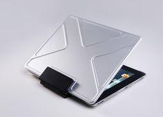 tank anti-shock aluminum iPad case by andrea ponti