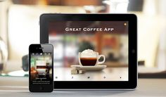 The Great Coffee App is another stunning coffee app for coffee lovers by the team at Mobile Creators. The app has a gorgeous collection of photos of 17 (including one that you have to unlock by sharing) different coffee cups, along with a short description of each. Each of the coffee cups has been meticulously crafted to perfection, showing you what ingredients make up that perfect cup.