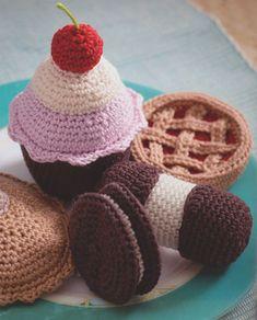 cupcakes haken haken - Google zoeken