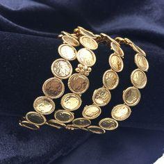 Coin Design Bangles