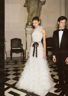 maryna linchuk in an incredible valentino dress