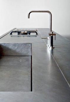 Edelstahl Spüle Wasserhahn küche