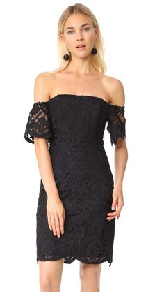 RSVP Nathalie Off Shoulder Lace Dress // BB Dakota