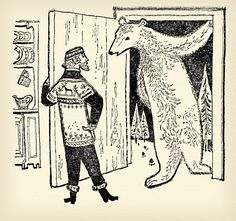 Illustration by William Stobbs from 'Round the World Fairy Tales' 1963