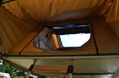 ... roof top tent. See More. Autana Ruggedized RTT & camping storage shoe-hammock accessory for a roof top tent | Out ...