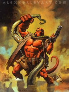 Hellboy by Alex Horley